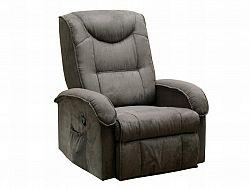 Idea Relaxační křeslo K38-BOBY, hnědé