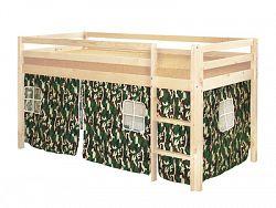 Idea Stan pro patrovou postel 832, látka S3-maskovací