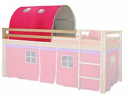 Idea Tunel pro patrovou postel 832, růžový