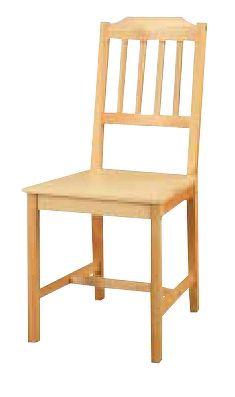 Idea Židle 866, masiv borovice