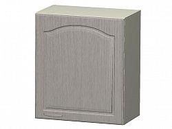 JULA horní skříňka pravá H 50 P, korpus vanilka/dvířka magnolie