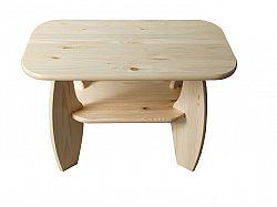 MAGNAT Konferenční stolek 65x65 nr.5, masiv borovice, moření: ...