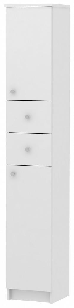 MB Domus SIMONA, skříňka vysoká SI13, bílá