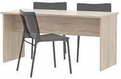 MB Domus Stůl jednací JH112 dub sonoma, - š. 147,8 cm, v. 71,4 cm, hl. 67,5 cm