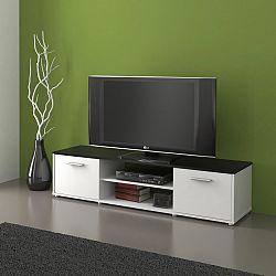 MB Domus Televizní stolek ZU01, černá/bílá
