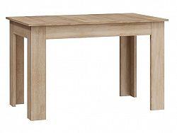 MORAVIA FLAT Jídelní stůl rozkládací, dub sonoma