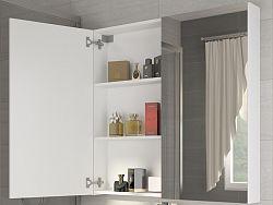 MORAVIA FLAT Koupelnová skříňka DELLA 80 cm, bílá