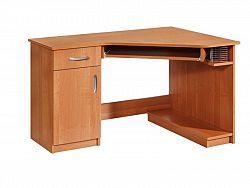MORAVIA FLAT PC stůl rohový CARMEN, levý, barva:
