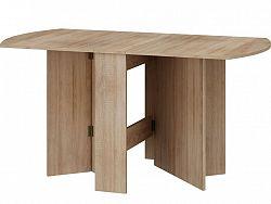 MORAVIA FLAT Skládací jídelní stůl EXPERT 2, dub sonoma