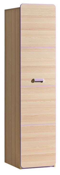 policová skříň, jasan/fialová, EGO L2, Casarredo LORENTTO