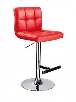 Smartshop Barová židle C-105, červená