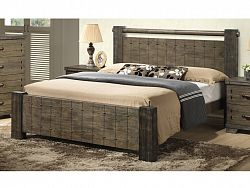Smartshop DiTAVOLA, postel 180x200 cm s roštem, masiv