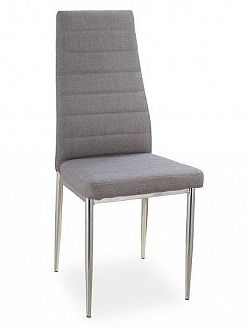 Smartshop Jídelní čalouněná židle H-263, šedá