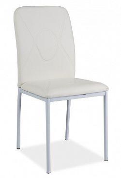Smartshop Jídelní čalouněná židle H-623, bílá