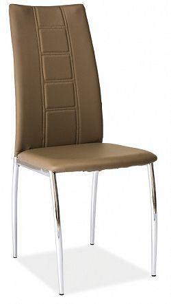 Smartshop Jídelní čalouněná židle H-880, latte