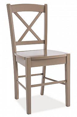 Smartshop Jídelní dřevěná židle CD-56, hnědá