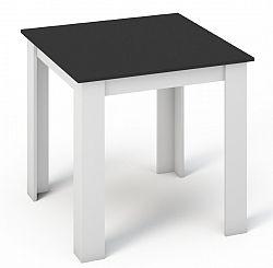 Smartshop Jídelní stůl KONGO 80x80 bílá/černá