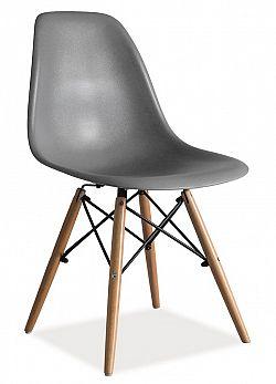 Smartshop Jídelní židle ENZO, šedá