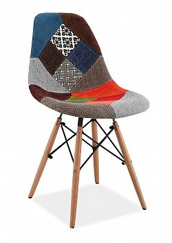 Smartshop Jídelní židle SIMON A, patchwork