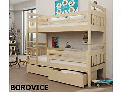 Smartshop Patrová postel HUGO 80x180 cm, masiv borovice/barva:..