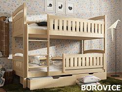 Smartshop Patrová postel IGNAS 80x180 cm, masiv borovice/barva:..