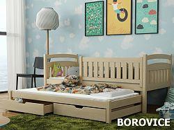 Smartshop Postel s přistýlkou GALAXY 90x200 cm, masiv borovice/barva:..
