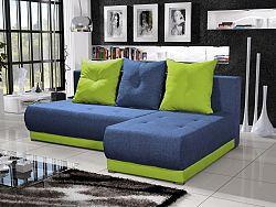 Smartshop Rohová sedačka INSIGNIA 15, modrá/zelená