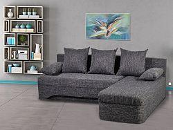 Smartshop Rohová sedačka TREVISO 1, černá