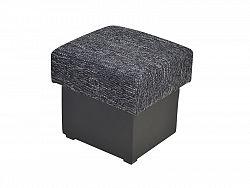 Smartshop Taburet SANTANA, černá