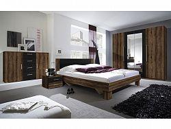 Smartshop VERA ložnice s postelí 160x200, dub monastery/černá