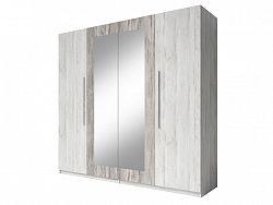Smartshop VERA skříň se zrcadlem, borovice canyon světlá/borovice canyon tmavá