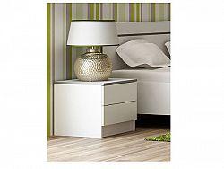 Smartshop VISTA noční stolek, bílá