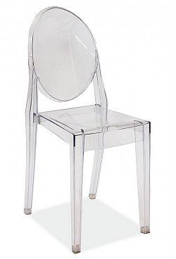 Smartshop Židle MARTIN, průhledná