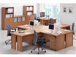 Tempo Kondela OSCAR, kancelářská sestava-vzorová sest. 2, třešeň