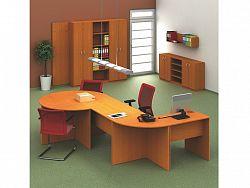 Tempo Kondela TEMPO AS, kancelářská sestava 4, třešeň