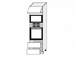 TITANIUM, skříňka dolní D14RU/2H-284, korpus: bílý, barva: fino bílé
