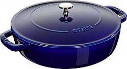 CHISTERA soté pánev se samopodlévací poklicí 24 cm/2,4l tm. modrá 12612491 Staub