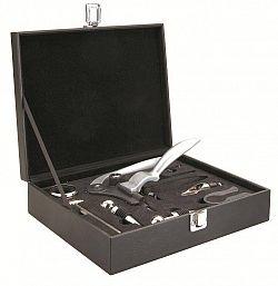 Dárkový set na víno 9ks v krabičce - Ibili