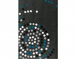 Deka Puntík šedá-modrá 9346