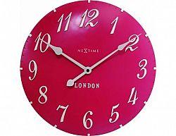 Designové nástěnné hodiny 3084rz Nextime v anglickém retro stylu 35cm