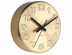 Designové nástěnné hodiny 5477GD Karlsson 19cm