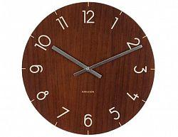 Designové nástěnné hodiny 5619DW Karlsson 40cm