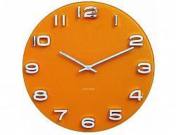 Designové nástěnné hodiny 5640YE Karlsson 35cm