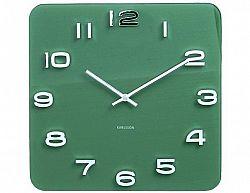 Designové nástěnné hodiny 5641GR Karlsson 35cm