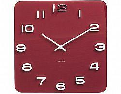 Designové nástěnné hodiny 5641RD Karlsson 35cm