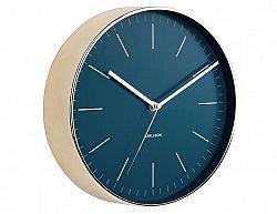 Designové nástěnné hodiny 5695BL Karlsson 28cm