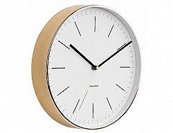Designové nástěnné hodiny 5695WH Karlsson 28cm