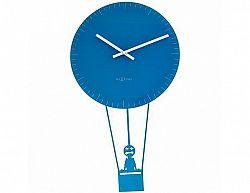 Designové nástěnné hodiny 8145bl Nextime Ballon 74cm