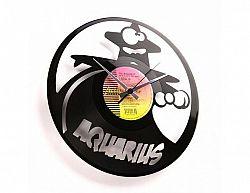 Designové nástěnné hodiny Discoclock Z11 Vodnář 30cm