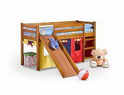 Dětská patrová postel Neo Plus, olše